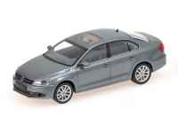 MODELLINO VOLKSWAGEN JETTA 2010 GREY METALLIC IN METALLO MINICHAMPS