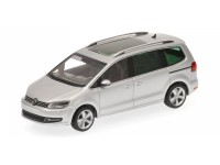 MODELLINO VOLKSWAGEN SHARAN 2010 SILVER METALLIC IN METALLO MINICHAMPS