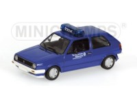 MODELLINO VOLKSWAGEN GOLF II THW IN METALLO MINICHAMPS