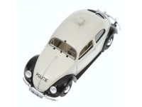 MODELLINO VOLKSWAGEN 1200 EXPORT 1951 POLITIE NETHERLANDS IN METALLO MINICHAMPS
