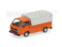 MODELLINO VOLKSWAGEN T3 1983 ORANGE IN METALLO MINICHAMPS