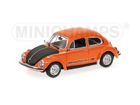 MODELLINO VOLKSWAGEN 1303 WORLD CUP 1974 ORANGE IN METALLO MINICHAMPS