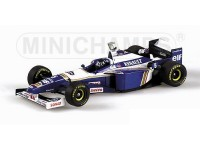 MODELLINO WILLIAMS RENAULT FW18 DAMON HILL WORLD CHAMPION 1996 IN METALLO MINICHAMPS
