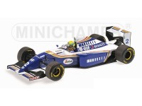 MODELLINO SCALA 1/18 WILLIAMS RENAULT FW16 AYRTON SENNA 1994 IN METALLO MINICHAMPS