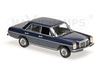 MODELLINO MERCEDES BENZ 200D W114/115 BLUE 1973 IN METALLO MINICHAMPS