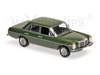 MODELLINO MERCEDES BENZ 200D W114/115 DARK GREEN 1973 IN METALLO MINICHAMPS