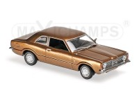 MODELLINO FORD TAUNUS 1970 BROWN METALLIC IN METALLO MINICHAMPS