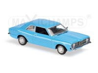 MODELLINO FORD TAUNUS 1970 LIGHT BLUE IN METALLO MINICHAMPS