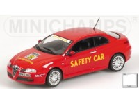 MODEL ALFA ROMEO GT SAFETY CAR RED IN METAL MINICHAMPS