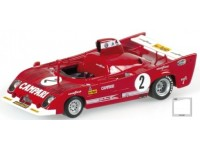 MODELLINO ALFA ROMEO 33 TT 12 WINNER SPA 1000 KM 1975 IN METALLO MINICHAMPS