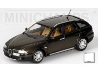 MODELLINO ALFA ROMEO CROSSWAGON 2004 OLIVE METALLIC IN METALLO MINICHAMPS