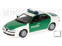MODELLINO ALFA ROMEO 156 POLIZEI 1997 IN METALLO MINICHAMPS
