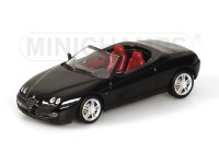 MODELLINO ALFA ROMEO SPIDER 2003 BLACK IN METALLO MINICHAMPS