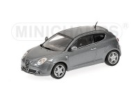 MODELLINO ALFA ROMEO MITO 2009 GREY IN METALLO MINICHAMPS