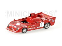 MODELLINO ALFA ROMEO 33 TT 12 MERZARIO MASS WINNERS COPPA FLORIO 1975 IN METALLO MINICHAMPS