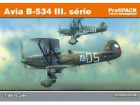 SCATOLA DI MONTAGGIO EDUARD MODELLINO AEREO Avia B-534 III serie Riedizione (ProfiPack) 1/48