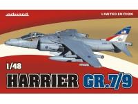 SCATOLA DI MONTAGGIO EDUARD MODELLINO AEREO Harrier GR.7/9 (Limited Ed.) 1/48