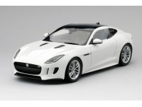MODELLINO JAGUAR F-TYPE R COUPE' POLARIS WHITE IN RESINA TSM