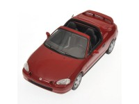 MODELLINO HONDA CIVIC DEL SOL 1993 ROSSA IN METALLO MINICHAMPS