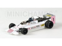 MODELLINO MARCH 792 F2 S. NAKAJIMA 1979 IN METALLO MINICHAMPS