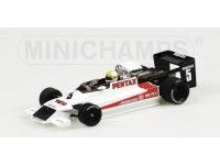 MODELLINO MARCH 792 F2 K. HOSHINO 1979 IN METALLO MINICHAMPS