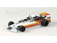 MODELLINO MARCH 792 F2 M. HASEMI 1979 IN METALLO MINICHAMPS