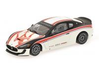 MODELLINO MASERATI GRANTURISMO MC GT4 TEST CAR 2010 IN METALLO MINICHAMPS