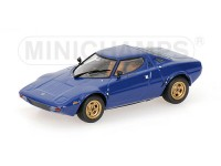 MODELLINO LANCIA STRATOS 1974 BLU IN METALLO MINICHAMPS