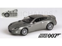 MODELLINO ASTON MARTIN V12 VANQUISH 007 J. BOND IN METALLO MINICHAMPS