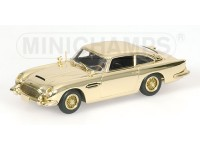 MODELLINO ASTON MARTIN DB 5 007 JAMES BOND GOLD PLATED IN METALLO MINICHAMPS