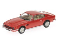 MODELLINO ASTON MARTIN V8 COUPE' 1987 ROSSA IN METALLO MINICHAMPS