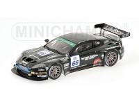 MODELLINO ASTON MARTIN DBRS9 FIA GT3 SPA FRANCORCHAMPS RICH 2006 IN METALLO MINICHAMPS