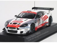MODELLINO ASTON MARTIN DBRS9 SCHROYER 24H SPA FRANCORCHAMPS 2009 IN METALLO MINICHAMPS