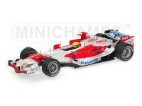 MODELLINO TOYOTA TF106 R. SCHUMACHER 2006 IN METALLO MINICHAMPS