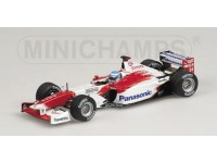 MODELLINO TOYOTA TF102 M. SALO 2002 IN METALLO MINICHAMPS