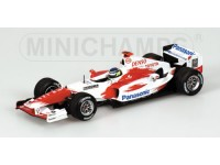 MODELLINO TOYOTA TF 104 C. DA MATTA 2004 IN METALLO MINICHAMPS