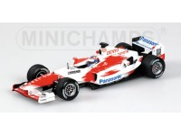 MODELLINO TOYOTA TF 104 O. PANIS 2004 IN METALLO MINICHAMPS
