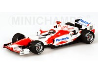 MODELLINO TOYOTA TF 104 J.TRULLI 2004 IN METALLO MINICHAMPS