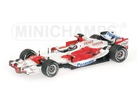 MODELLINO TOYOTA TF106 J. TRULLI 2006 IN METALLO MINICHAMPS