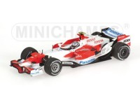 MODELLINO TOYOTA TF107 J. TRULLI 2007 IN METALLO MINICHAMPS