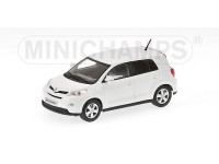 MODELLINO TOYOTA URBAN CRUISER 2009 BIANCA IN METALLO MINICHAMPS