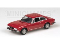 MODELLINO PEUGEOT 504 COUPE' 1974 ROSSA IN METALLO MINICHAMPS