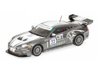 MODELLINO JAGUAR XKR GT3 QUAIFE HALL FIA GT3 CHAMPIONSHIP 2008 IN METALLO MINICHAMPS