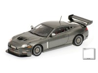 MODELLINO JAGUAR XKR GT3 2008 GREY METALLIC IN METALLO MINICHAMPS