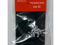 AMATI 8004 MARINAIO IN METALLO 22 mm PER MODELLI NAVALI DA 1/86 A 1/72