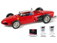 "MODELLINO FERRARI 156F1 ""SHARKNOSE"" 1961 IN METALLO CMC"
