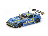 MODELLINO MERCEDES BENZ AMG GT3 24H NURBURGRING 2016 IN RESINA MINICHAMPS