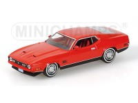 MODELLINO FORD MUSTANG MACH 1 J. BOND DIAMONDS ARE FOREVER IN METALLO MINICHAMPS