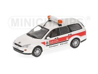 MODELLINO FORD FOCUS TURNIER 1997 ORDNUNGSAMT IN METALLO MINICHAMPS