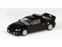 MODEL FORD RS 200 RHD 1986 BLACK METAL MINICHAMPS